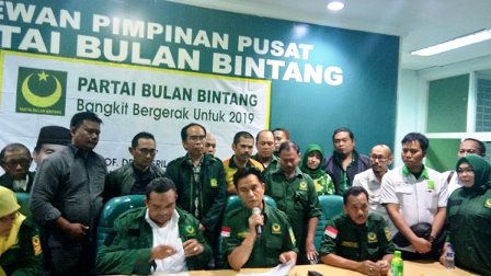 Yusril press conference