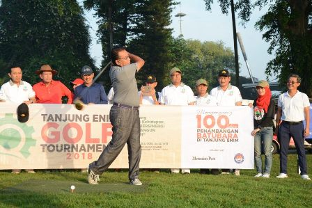 Djoko Suyanto Tajung Enim Golf Tournament