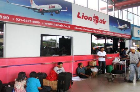Lion Air check in