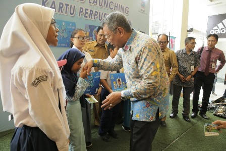 Grand launcing kartu perpus multiguna